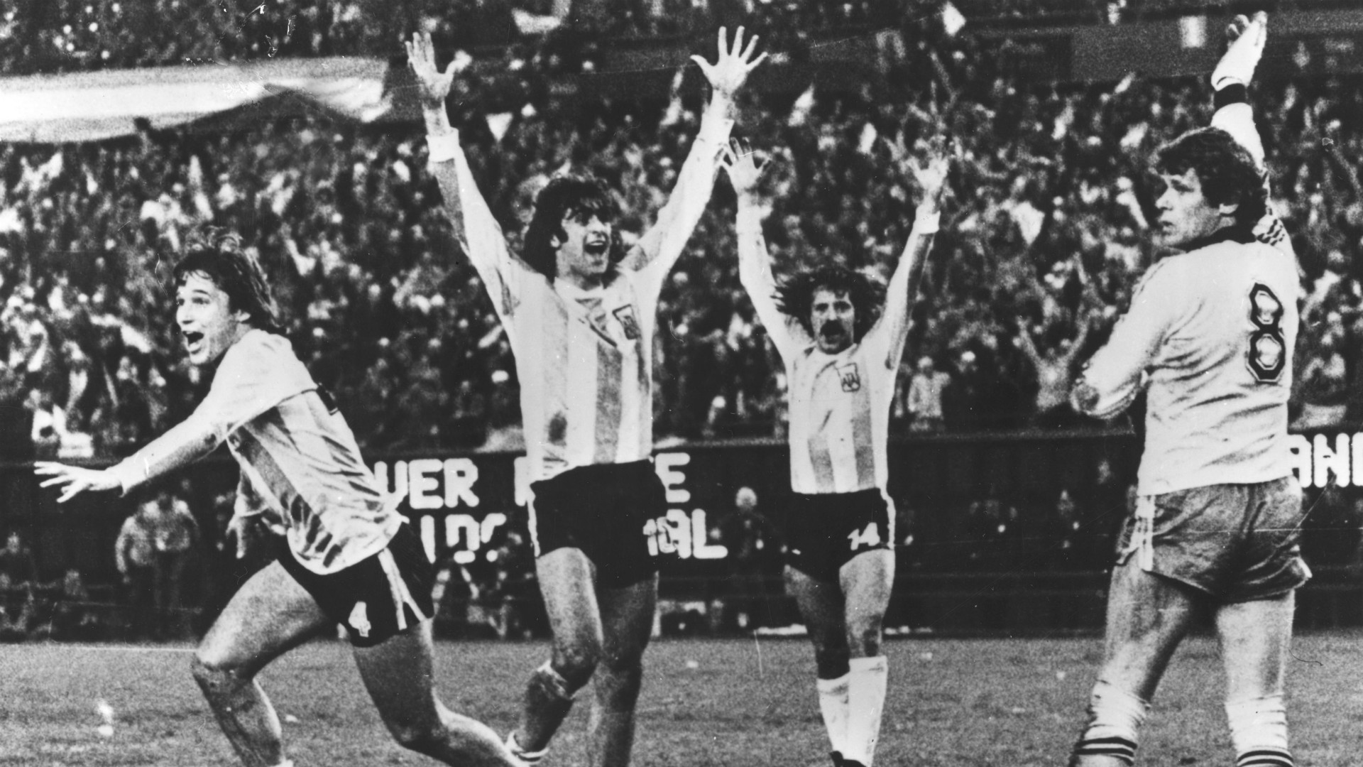 Daniel Bertoni Argentina Netherlands World Cup 1978 Final Match