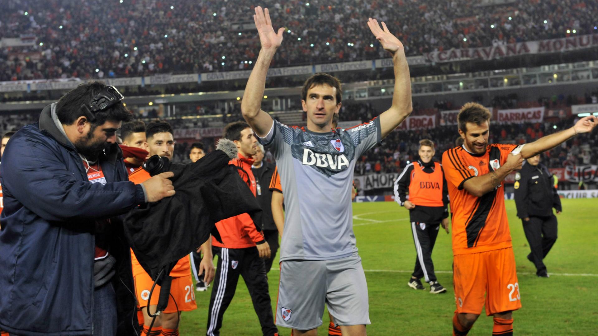 Marcelo Barovero River Plate 14052016