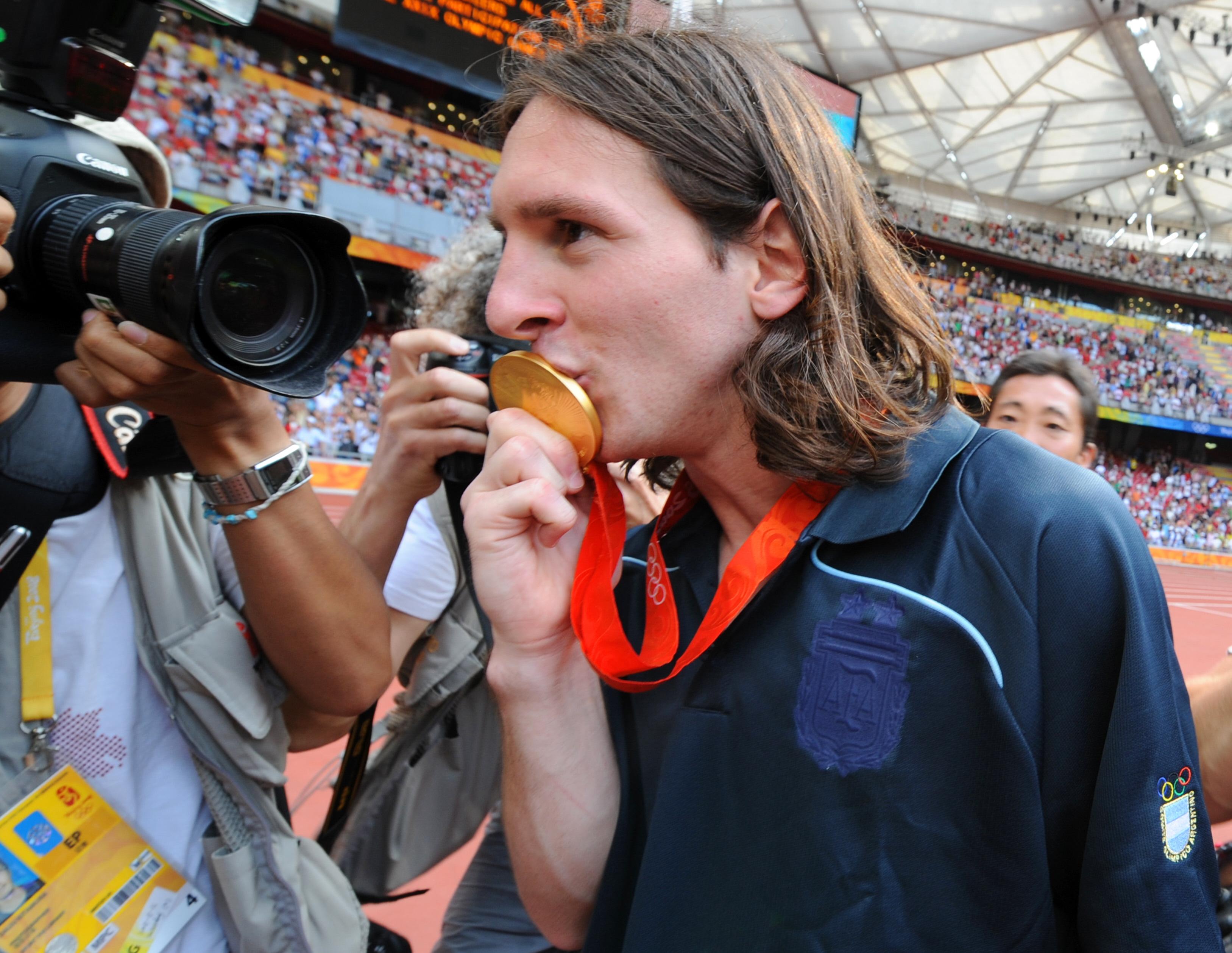Messi, Juegos Olímpicos 2008