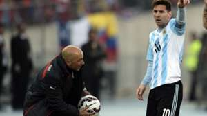 Sampaoli Messi argentina chile Copa America 2015 02012017