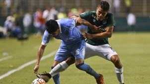 Erwin Saavedra Andres Roa Deportivo Cali Bolivar Copa Libertadores 14042016