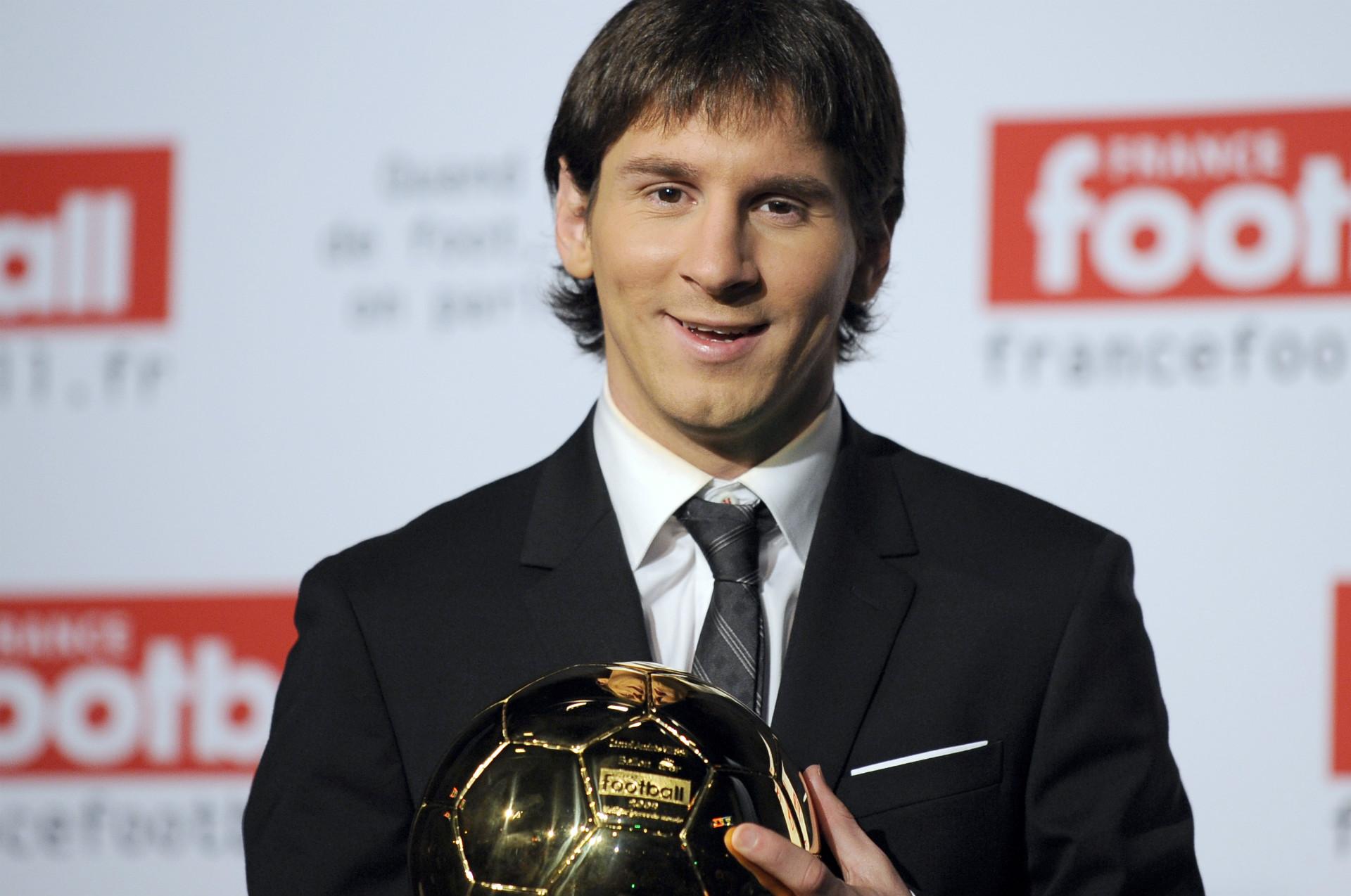 Ballon d'Or 2009 Messi