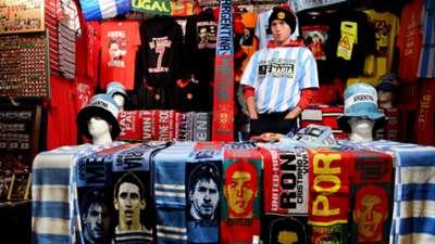 Argentina Portugal Friendly Match Old Trafford 18112014