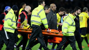Mauro Zarate Injury Watford West Ham Premier LEague 25022017