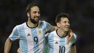 Higuain Messi Argentina v Bolivia Eliminatorias WC Qualifying South America 2018 29032016