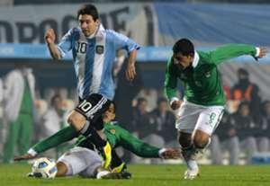 Lionel Messi Argentina Bolivia Copa America 2011