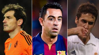 Collage - Jugadores centenarios Champions League