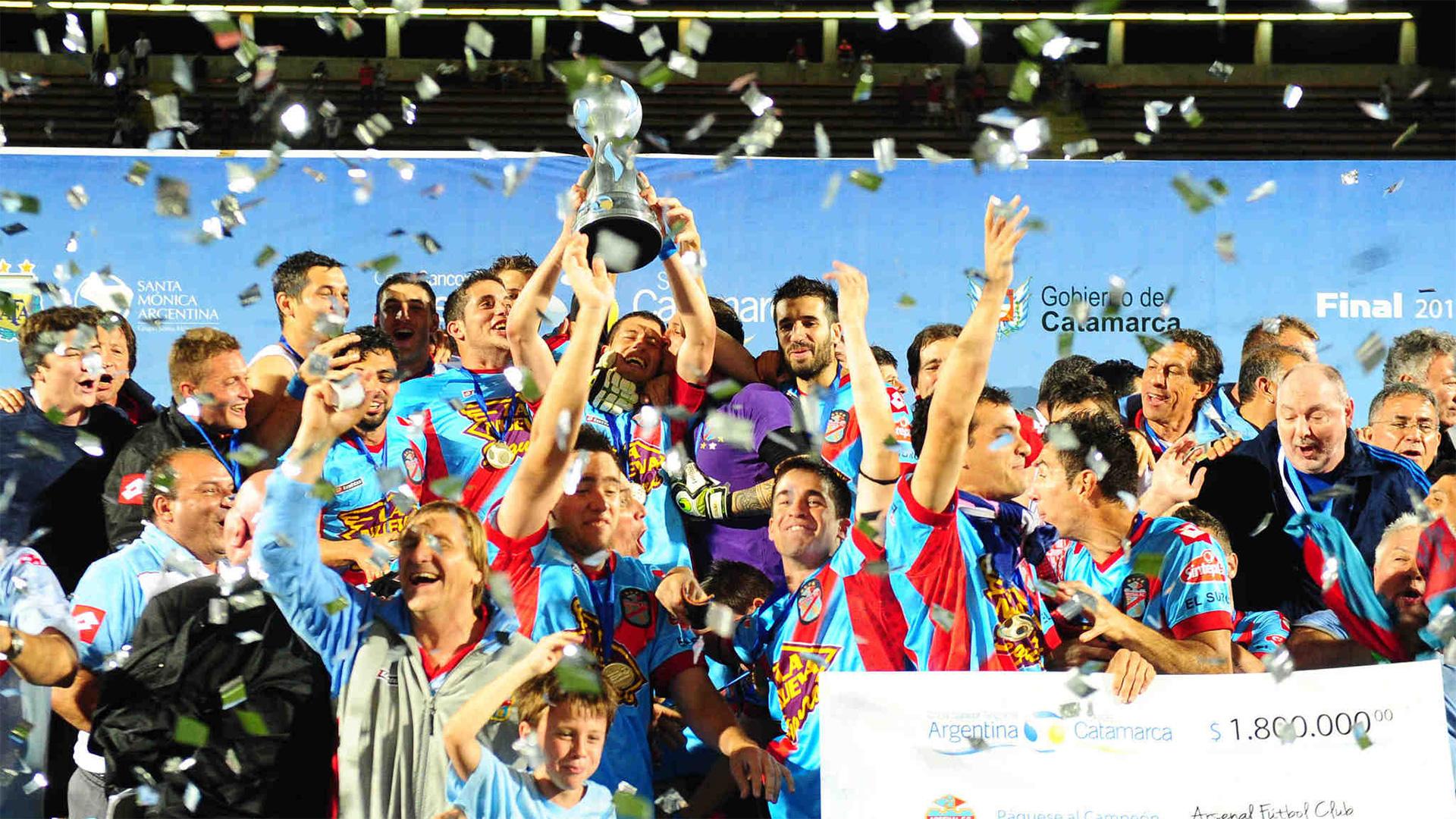 Campeón Arsenal Copa Argentina 2013