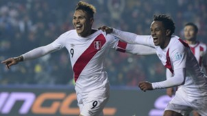 Paolo Guerrero Perú - Paraguay Copa América 03072915