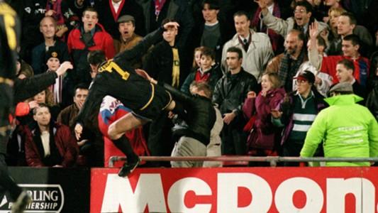 Eric Cantona Crystal Palace Manchester United 25011995