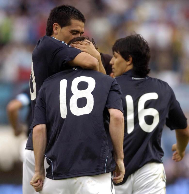 11 de octubre de 2008 Messi Riquelme