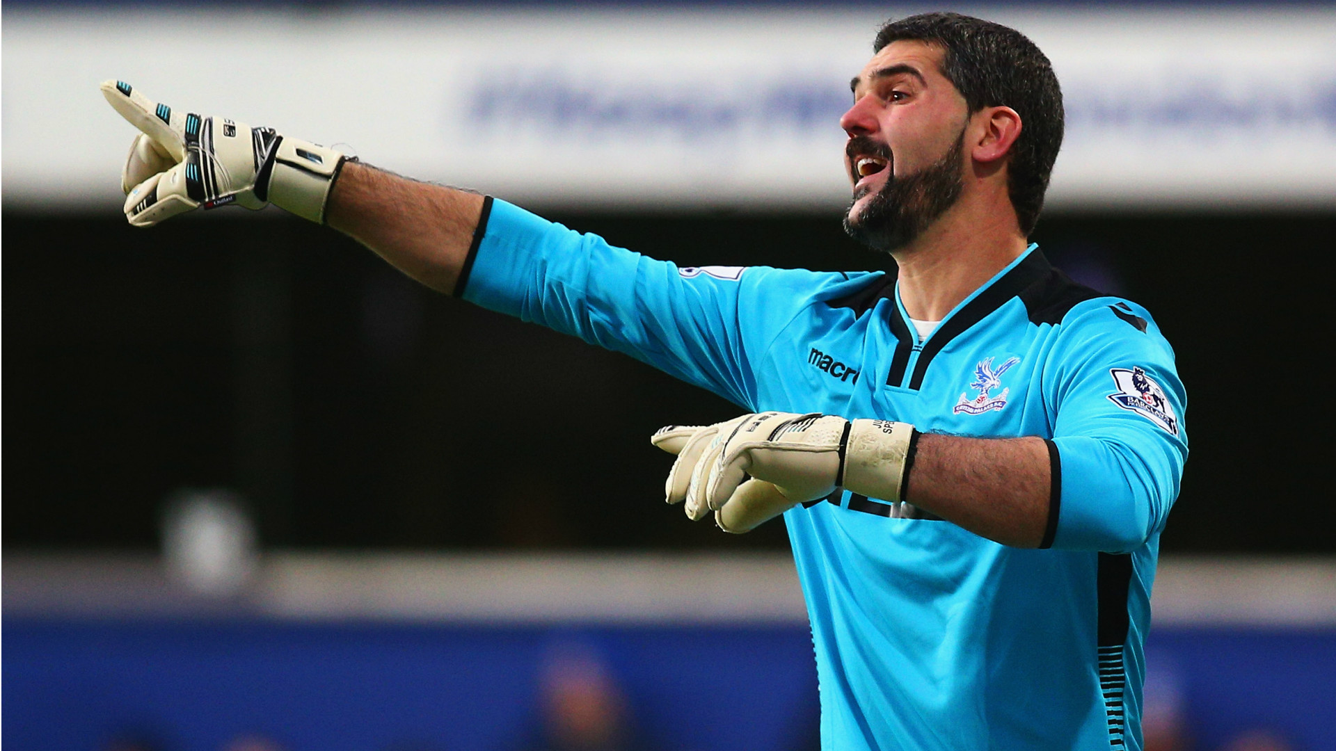Julian Speroni QPR Crystal Palace Premier League 28122014