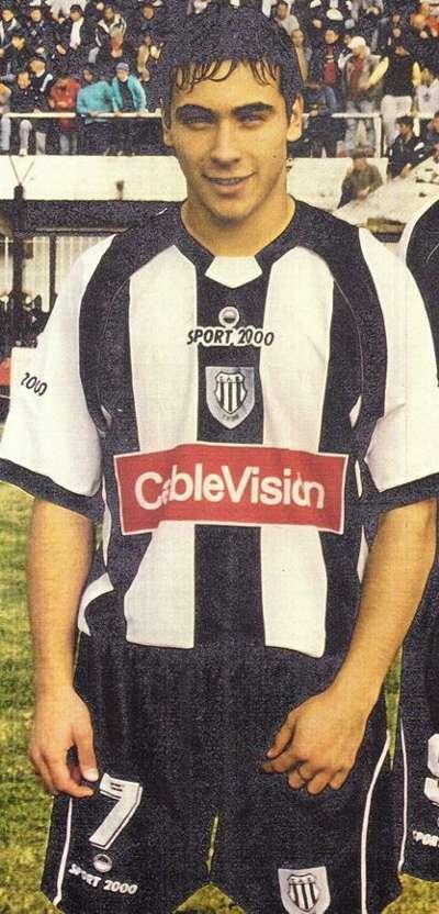 Ezequiel Lavezzi Estudiantes 2004