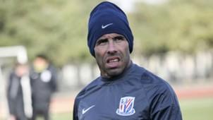 Carlos Tevez Shanghai Shenhua training 21012017