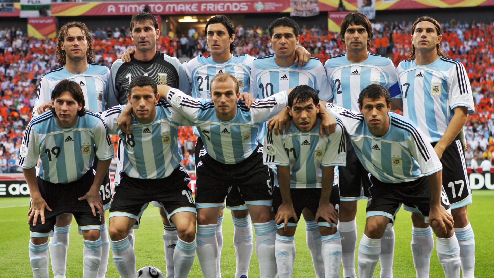 Lionel Messi Juan Roman Riquelme Argentina