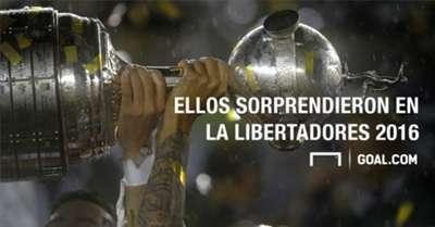 Los jugdaores que sorprendieron en la Copa Libertadores 2016