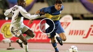 Riquelme Boca Real Madrid 2000 play