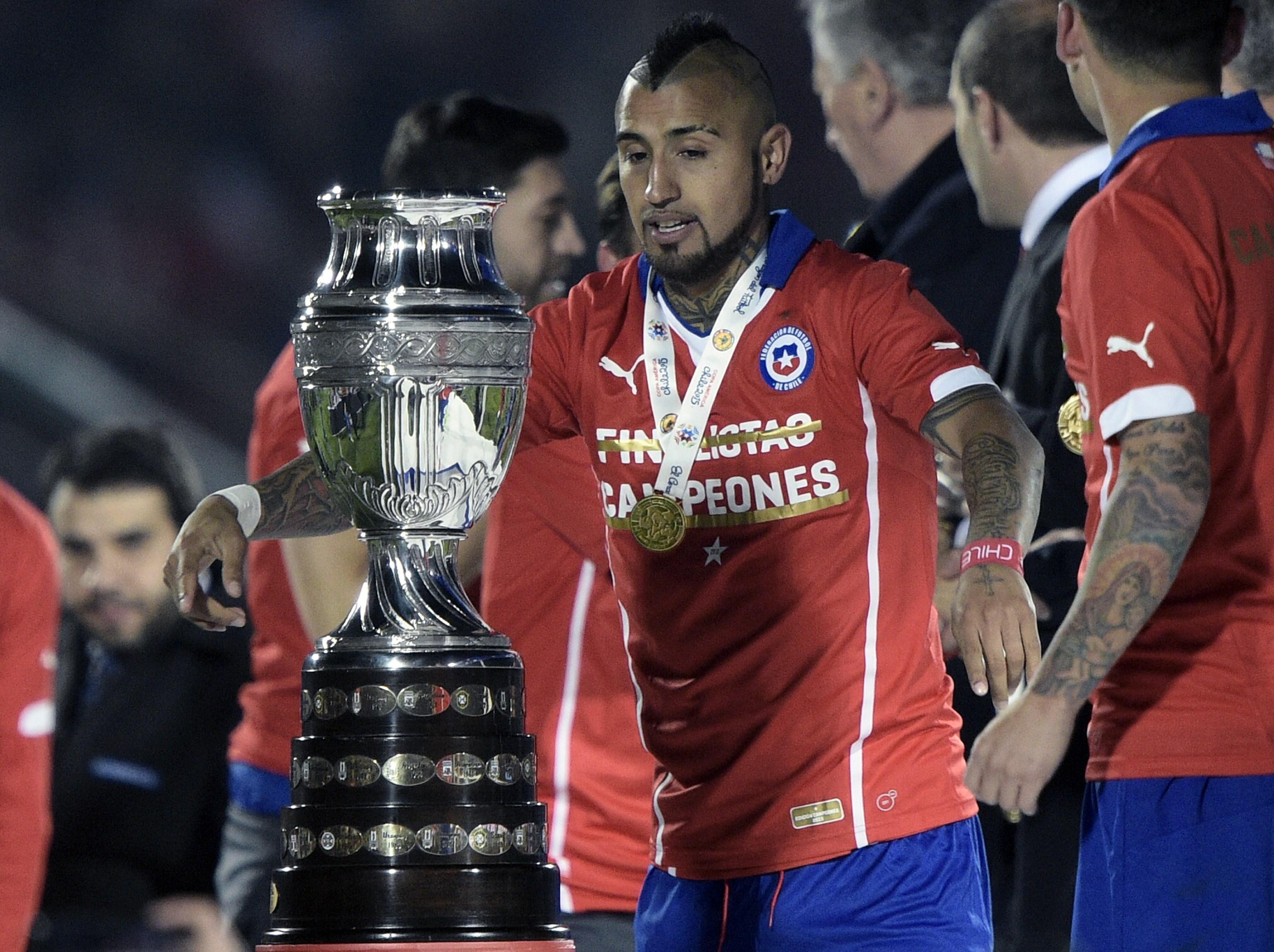 Arturo Vidal, Copa América 2015
