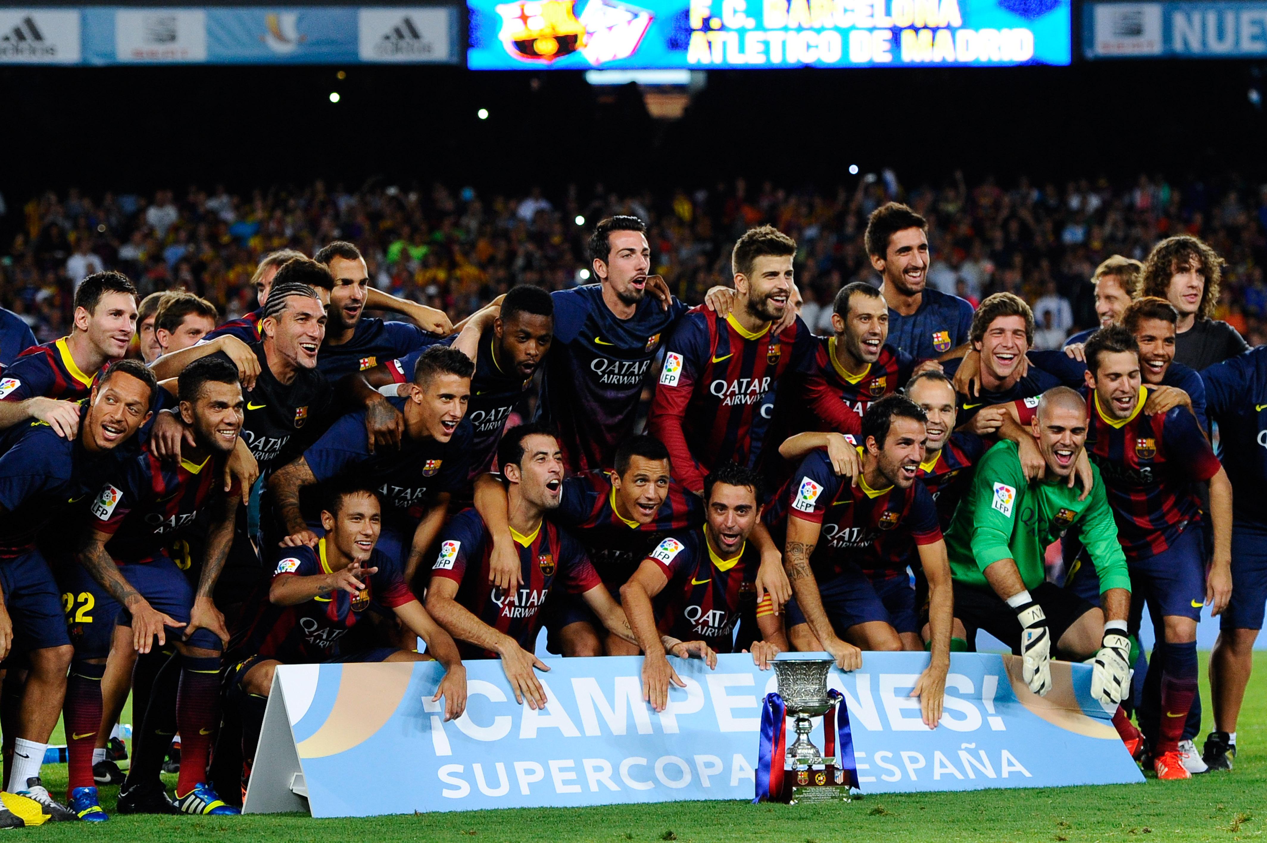 Messi, Supercopa España 2013