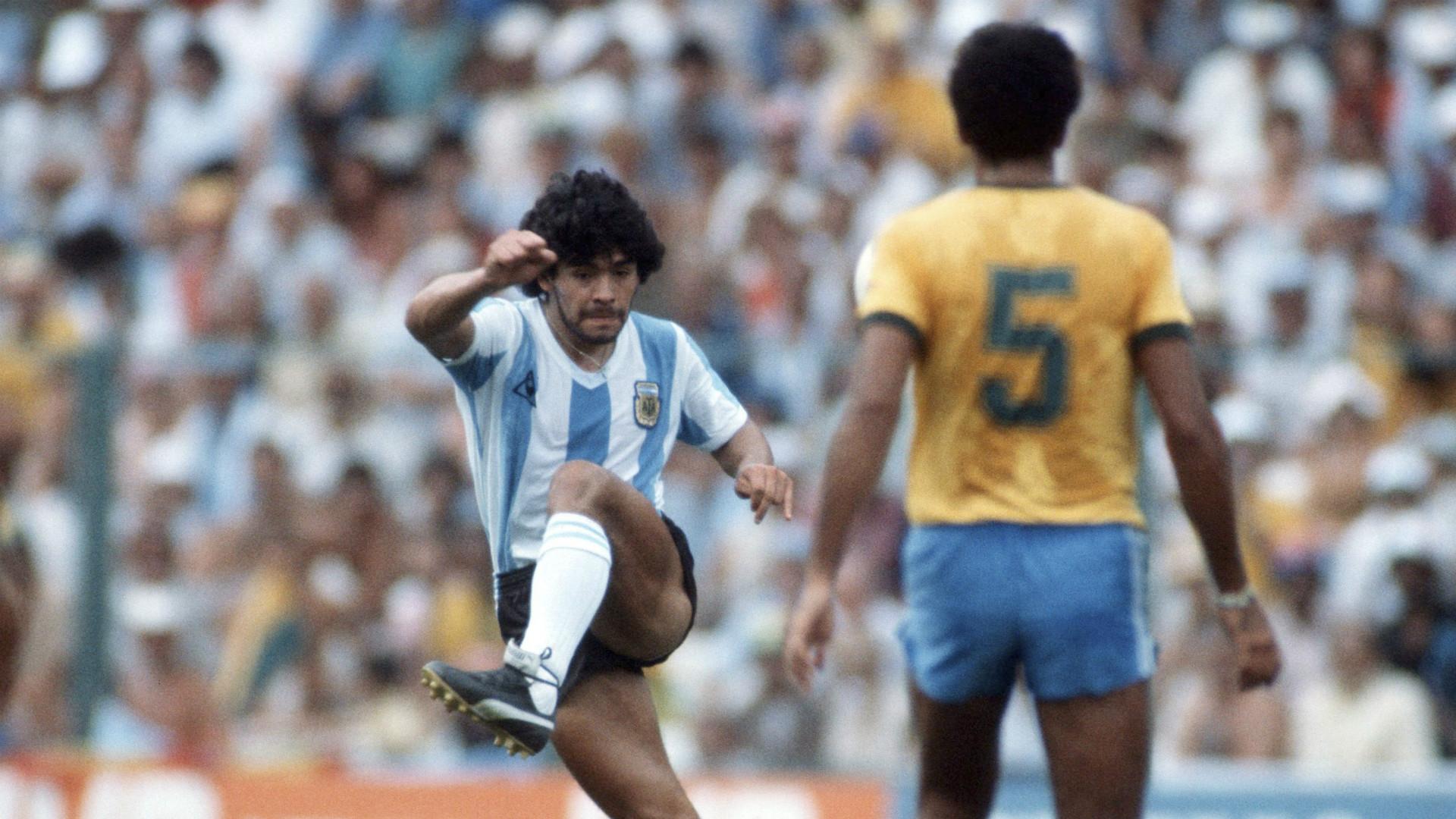 Maradona Argentina Spain 1982