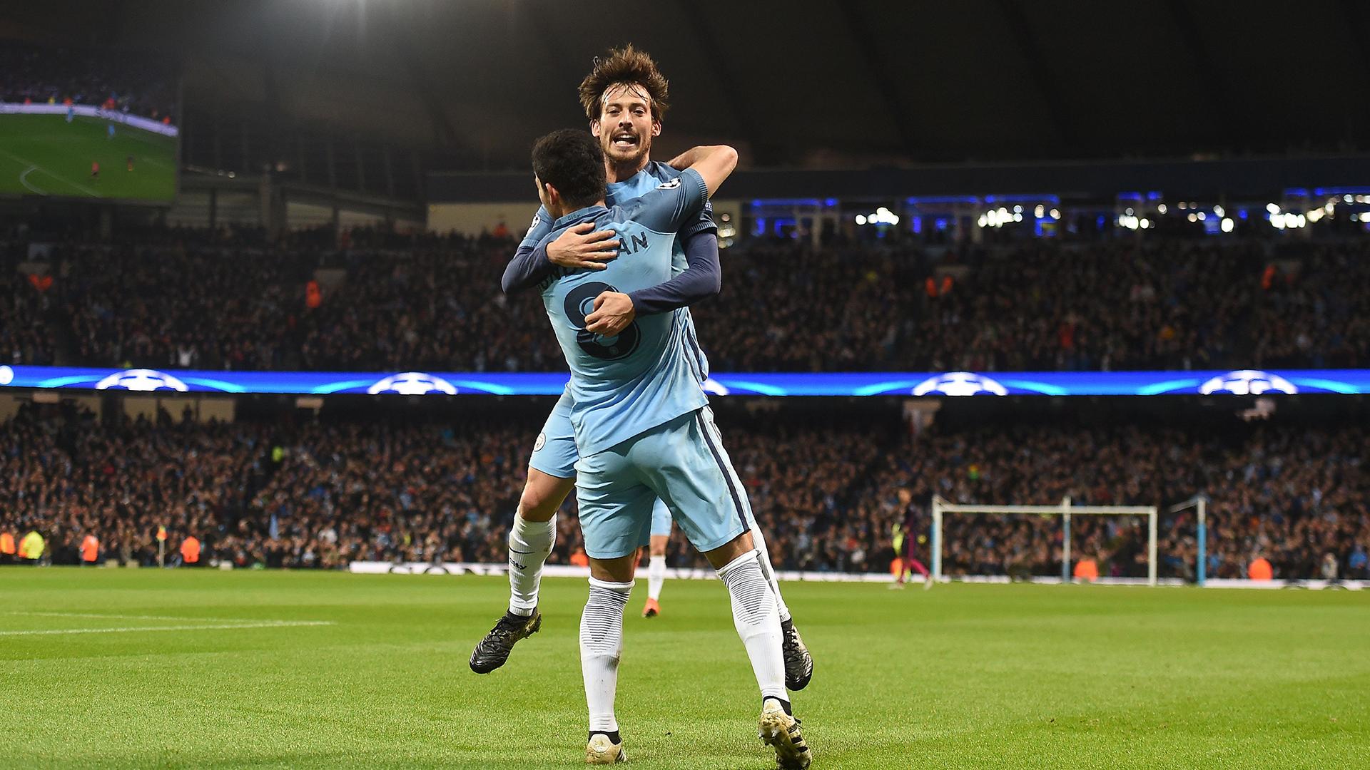 Gundogan Silva Manchester City Barcelona 1112016