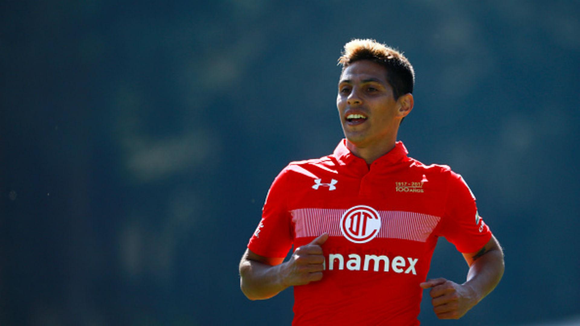 Pablo Barrientos Toluca Liga MX México