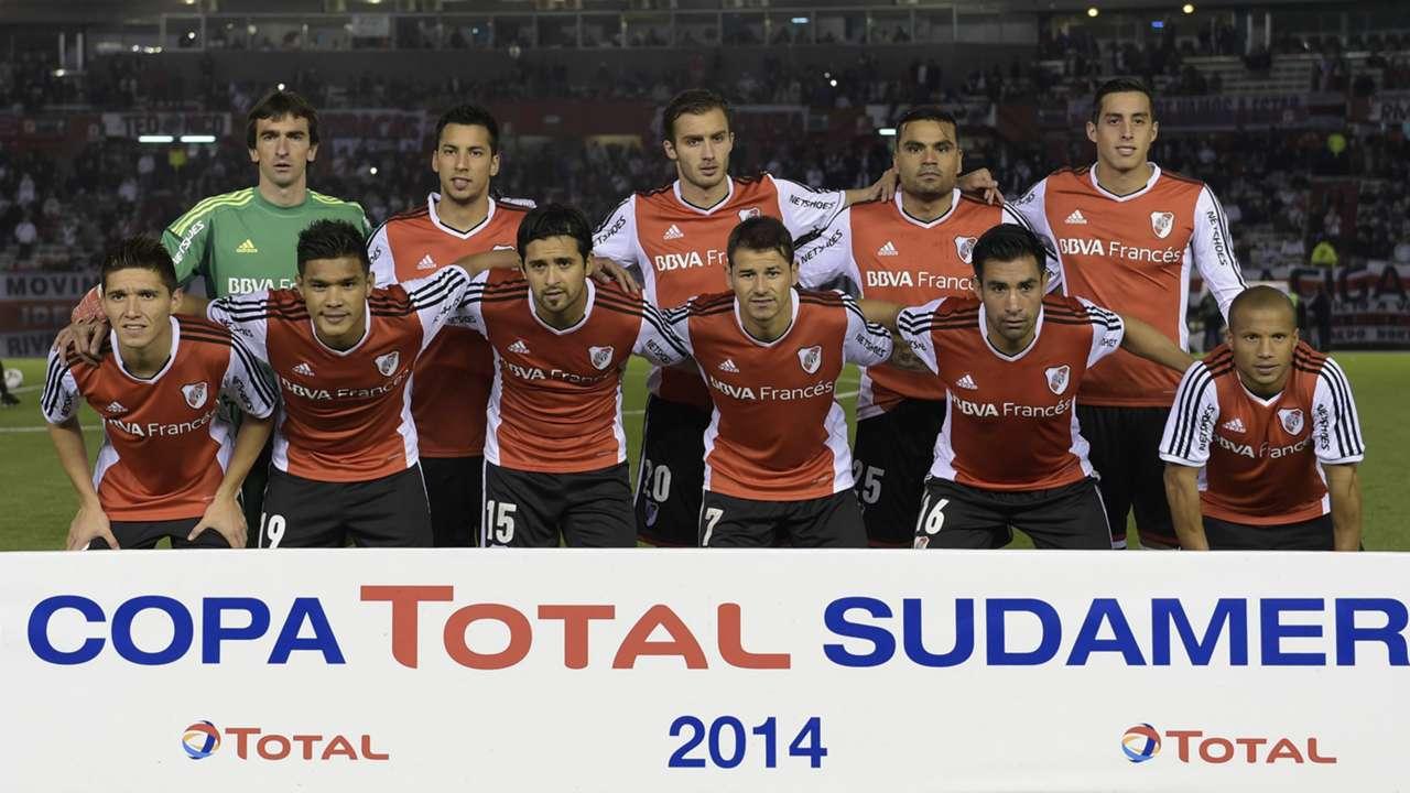 River Plate Godoy Cruz Copa Sudamericana 17092014