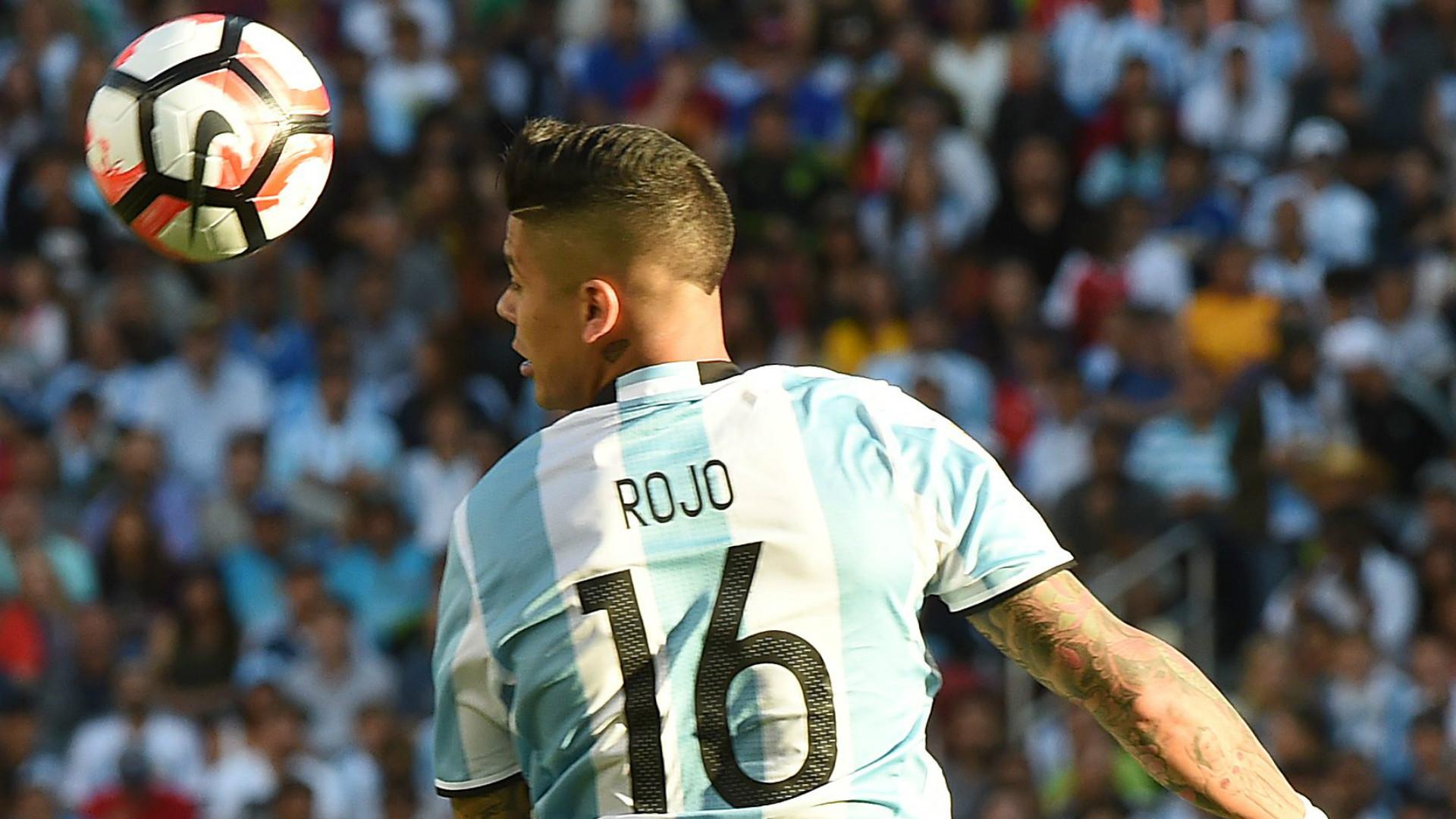 Marcos Rojo Argentina Chile Group D Copa America Centenario 06062016