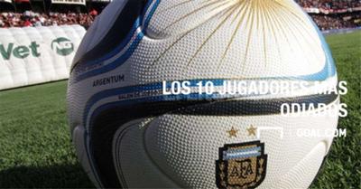 PS GALERIA Los 10 jugadores mas odiados del futbol argentino