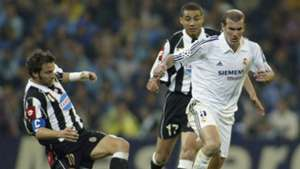 Alessandro Del Piero David Trezeguet Zinedine Zidane Real Madrid Juventus Champions League 06052003