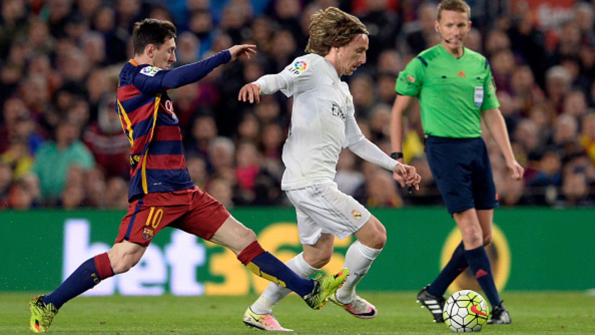 FC Barcelona Real Madrid 2016 15/16 Camp Nou La Liga