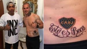 Dario Benedetto tatuaje Boca