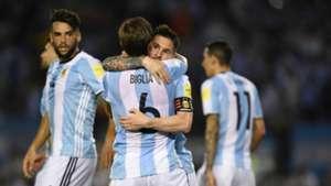 Biglia Messi Argentina Chile Eliminatorias Sudamericanas 2018