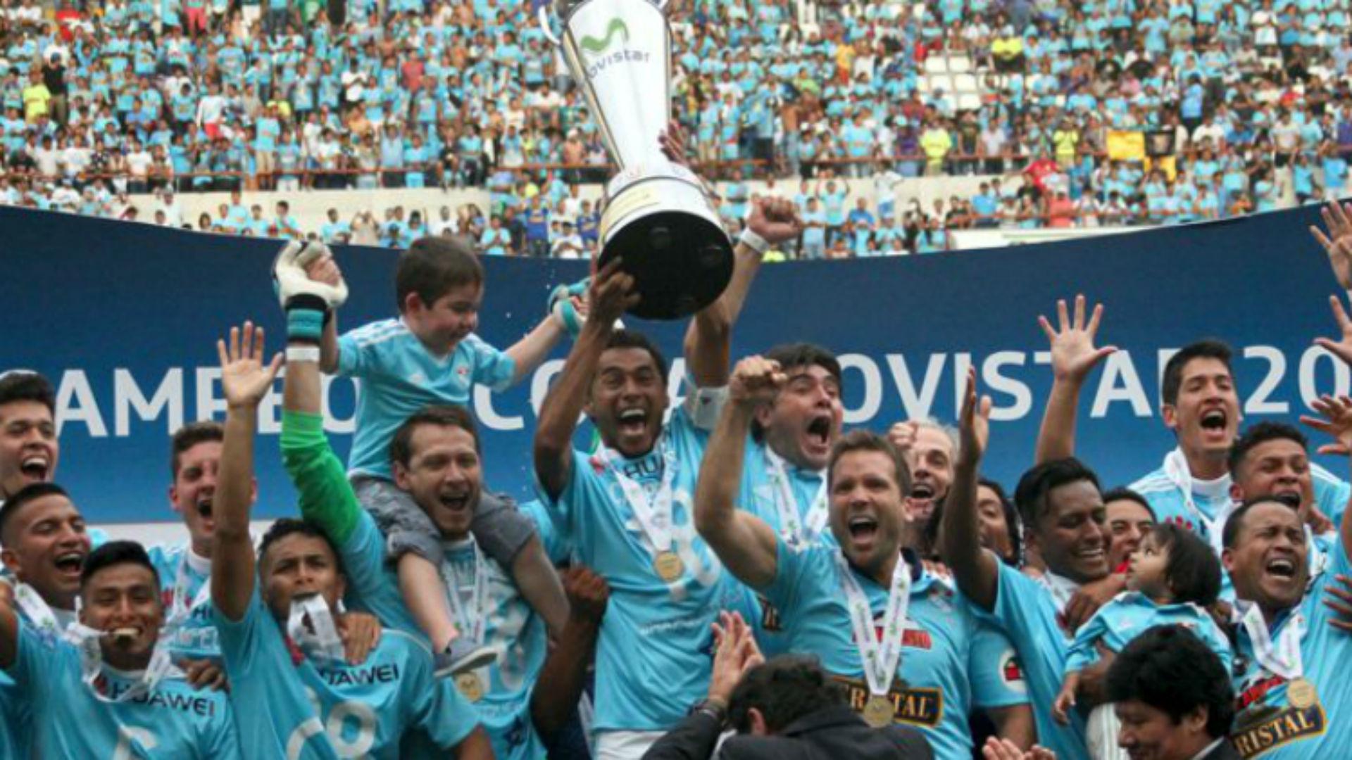 Sporting Cristal Peru Campeon Torneo Descentralizado 2016