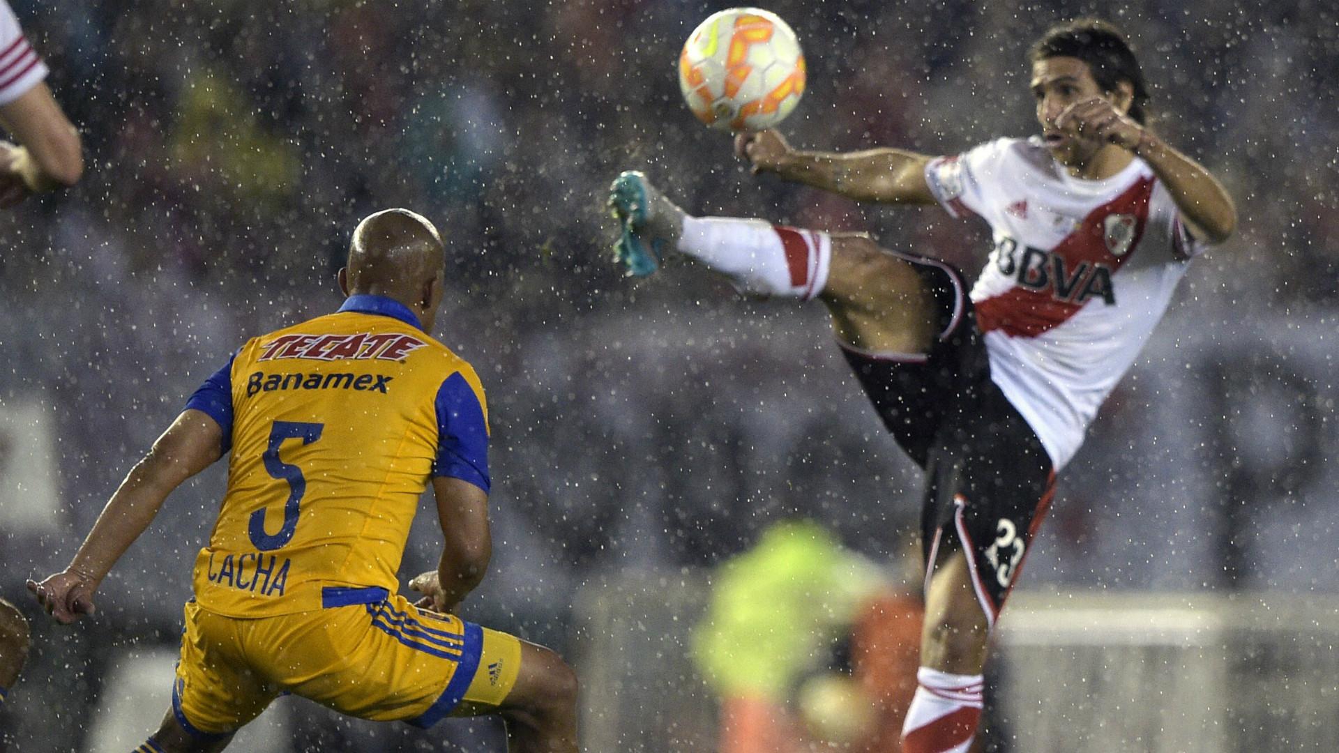 Arevalo Rios Leonardo Ponzio River Plate Tigres Copa Libertadores Final 05082015