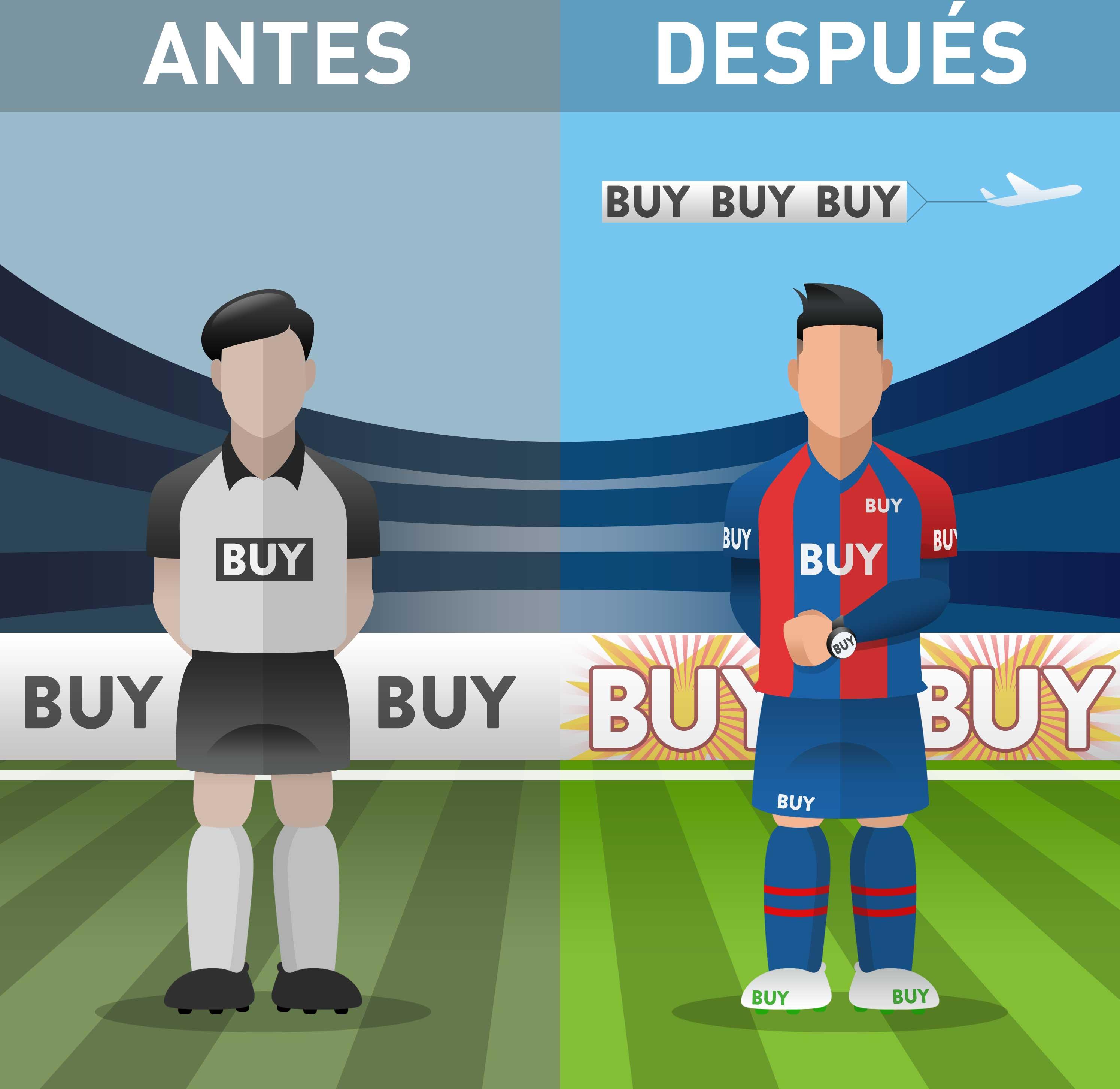 El fútbol del pasado Vs el fútbol actual ¿qué ha cambiado   8fdcb137b9848