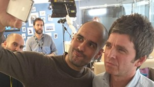 Pep Guardiola Noel Gallagher Manchester City 03072016