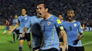 Diego Godín Uruguay v Chile 17112015
