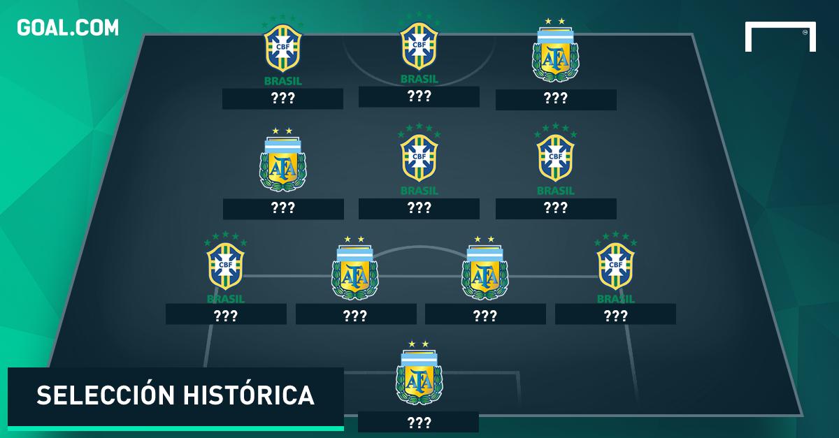 Galería: el posible XI de los mejores de Argentina y Brasil