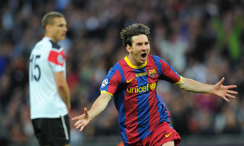 Lionel Messi Manchester United 28052011