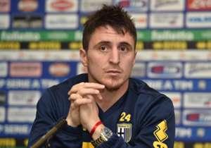 CRISTIAN 'CEBOLLA' RODRIGUEZ - Nel gennaio 2015 arriva in prestito al Parma: giocherà appena cinque gare, e verrà squalificato per quattro gare per aver afferrato e offeso l'arbitro in un match contro l'Atalanta