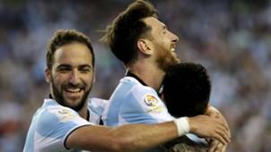 Gonzalo Higuain Lionel Messi Argentina Venezuela quarterfinal Copa America Centenario 18062016
