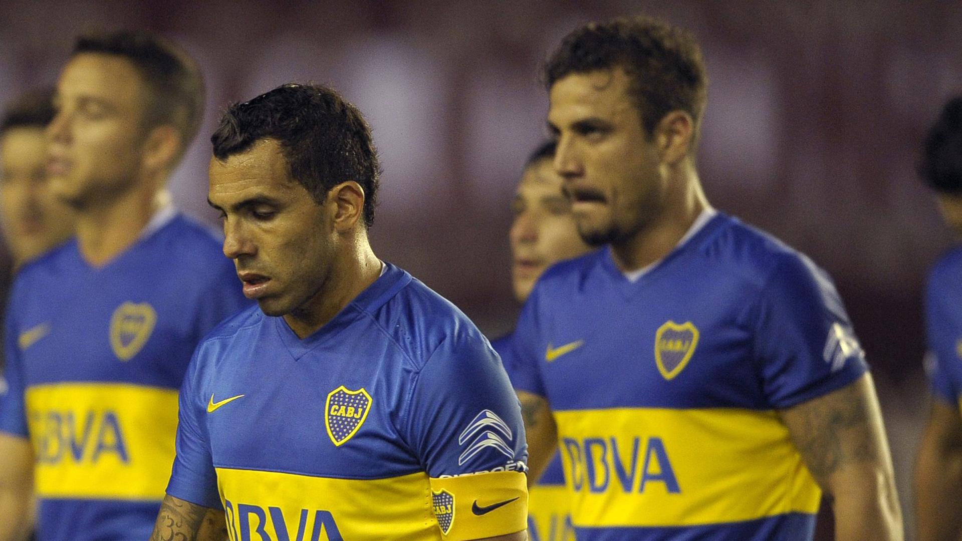 Carlos Tevez Daniel Osvaldo Boca Juniors Lanus Primera Division Argentina 20032016
