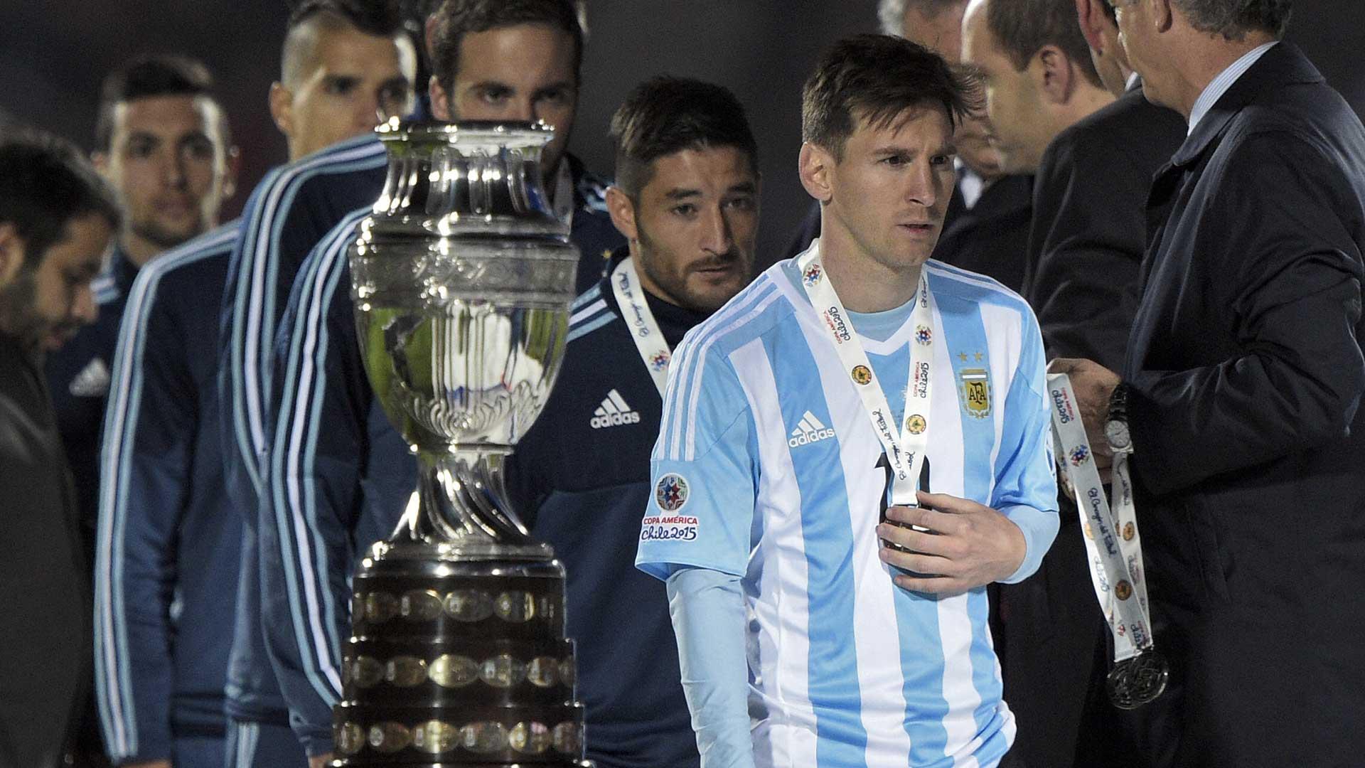 Messi Chile Argentina Copa América 2015 22062016