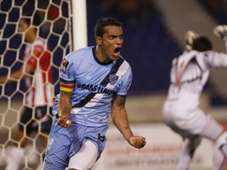 William Ferreira marca ante el Junior