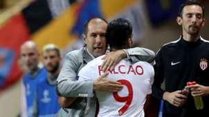 Radamel Falcao & Leonardo Jardim Monaco