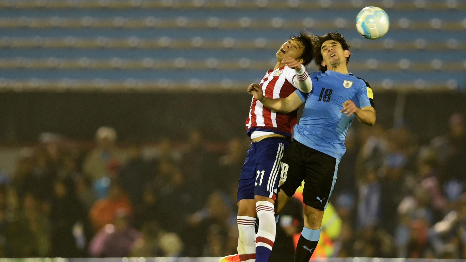 Uruguay - Paraguay Eliminatorias 06092016