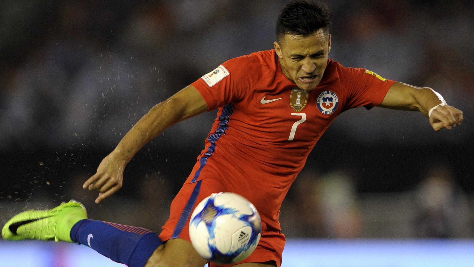 Alexis Sanchez Argentina Chile Eliminatorias 23032017