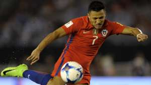 Alexis Sanchez Argentina Chile Eliminatorias 23032017