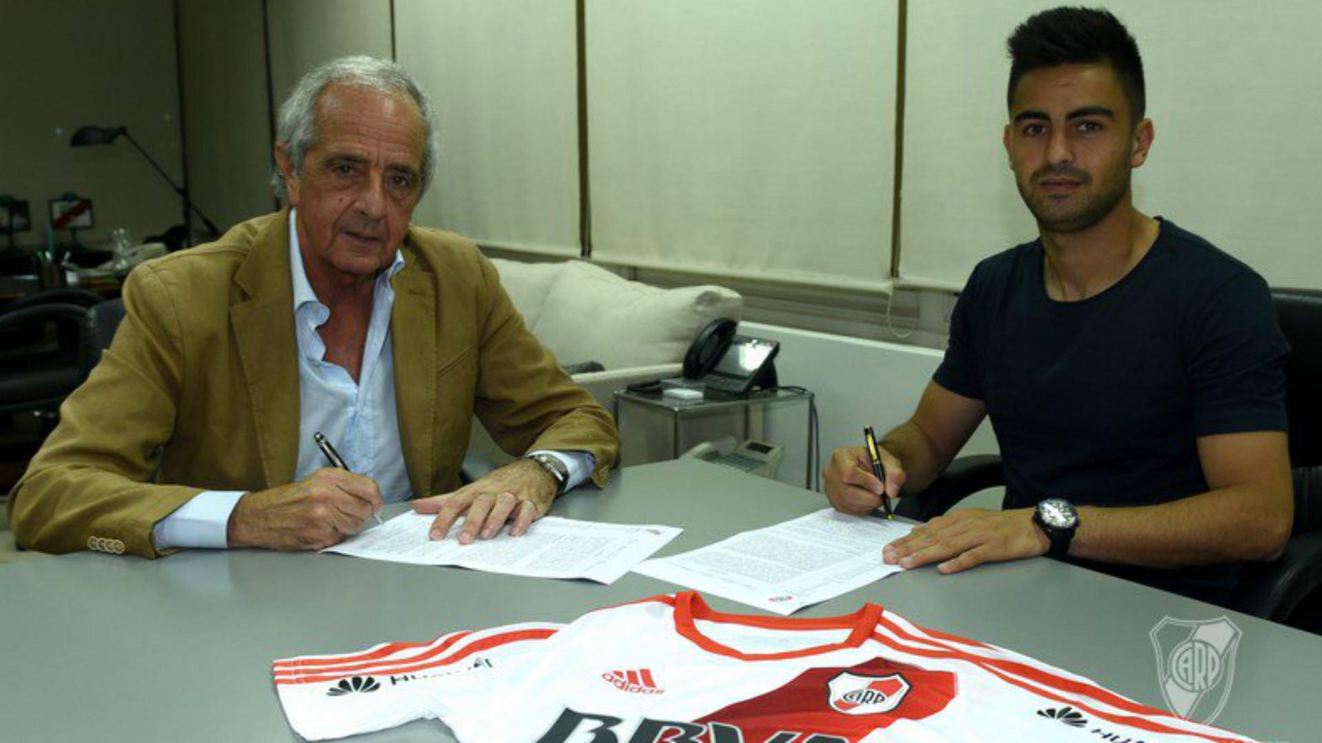 Rodolfo DOnofrio Gonzalo Martinez River Plate 31102016